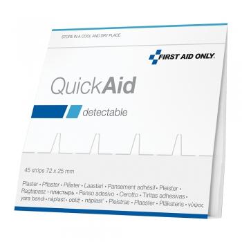 Rezerva Quick Aid, 45 de plasturi detectabili, rezistenti la apa