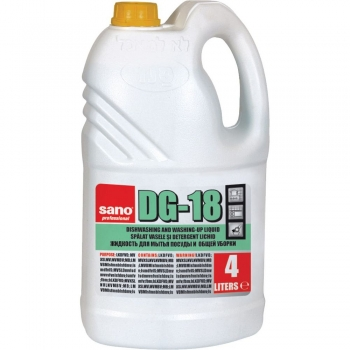 Detergent vase Sano DG18 4l