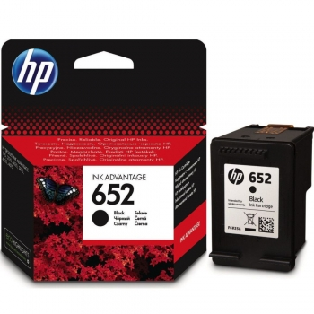 Cartus cerneala,  HP, Ink Advantage 652, F6V25AE, negru