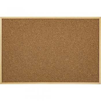 Tabla de pluta, Noki, rama lemn, 90x120 cm, prindere pe perete