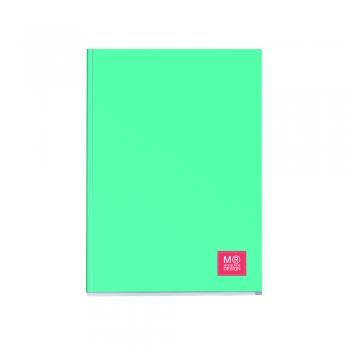 Caiet capsat Miquelrius, Candy Tag, A4, matematica, 80 file, turcoaz