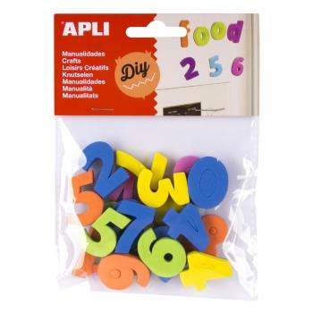 Numere APLI cu magnet, 20 bucati/set