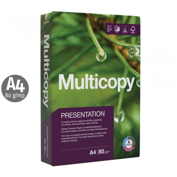 Hartie Multicopy Presentation, A4, 80 g, 500 coli/top