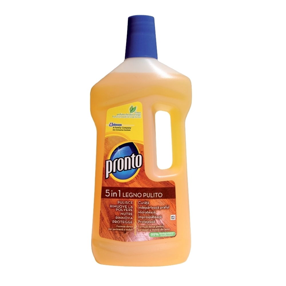 Detergent parchet, Pronto, Lemn Curat, 750 ml