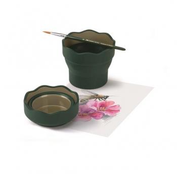 Cutie Apa Verde Clic&Go Faber-Castell