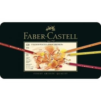 Creioane Colorate 120 Culori Polychromos Faber-Castell