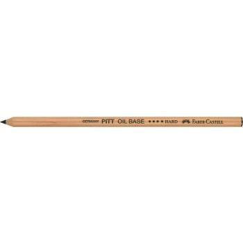 Creion Ulei Pastel Pitt Negru Dur Faber-Castell