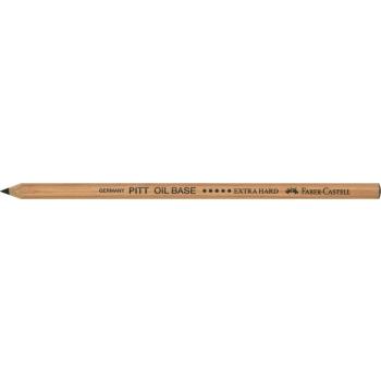 Creion Ulei Pastel Pitt Negru Extra Dur Faber-Castell