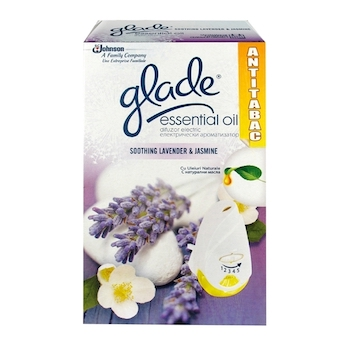 Dispenser automat Glade, Essential Oil, lavanda