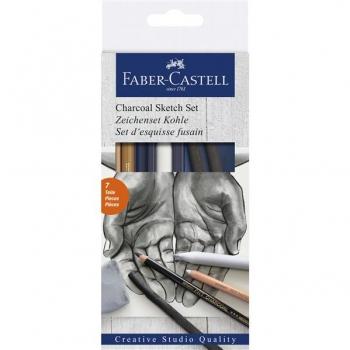 Set Desen Carbune Faber-Castell