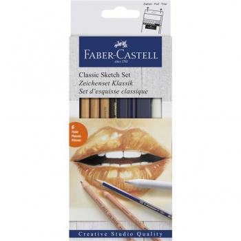 Set Desen 6 Buc Pentru Schite Faber-Castell