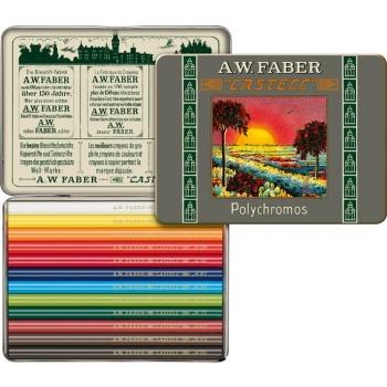 Creioane Colorate Scurte 12 Cul. 111 Ani Polychromos Faber
