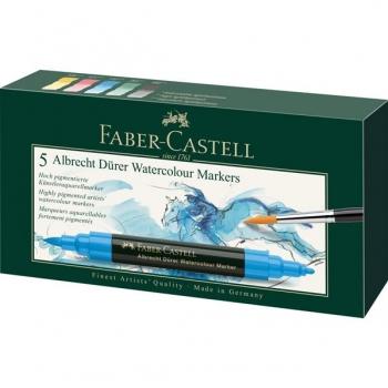 Set 5 Markere Solubile A. Durer Faber-Castell