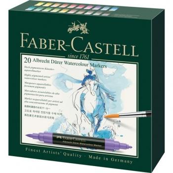 Set 20 Markere Solubile A.Durer Faber-Castell