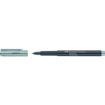 Marker Metallics Albastru Faber-Castell