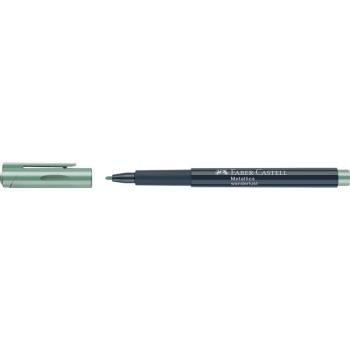 Marker Metallics Verde Faber-Castell