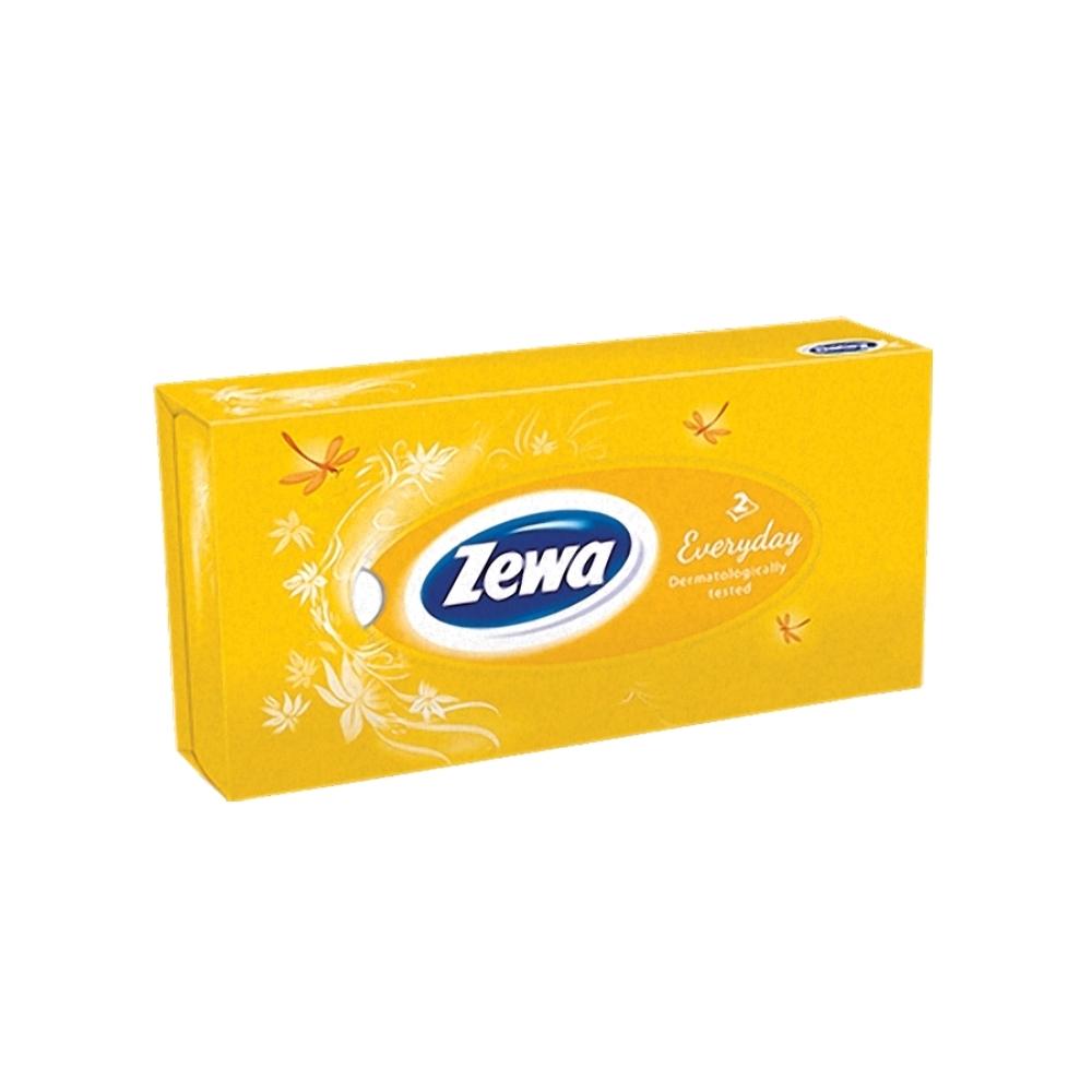 Servetele faciale Zewa Everyday, 2 straturi, 100 bucati/cutie
