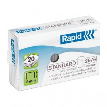Capse 26/6 Standard Rapid