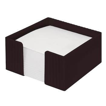 Suport cub hartie Flaro Star, plastic, 90 x 90 mm, negru