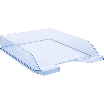 Tavita pentru documente Donau, albastru transparent