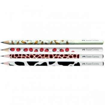 Creion Grafit B Cu Modele Faber-Castell