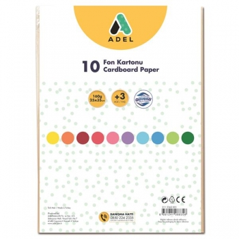 Carton Color 10 Coli Adel