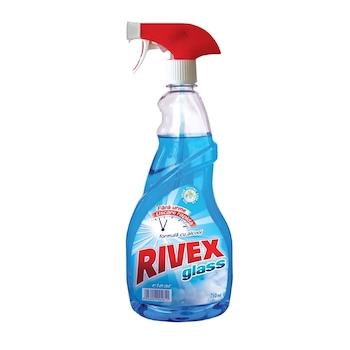 Detergent Rivex pentru geamuri, pulverizator, 750 ml