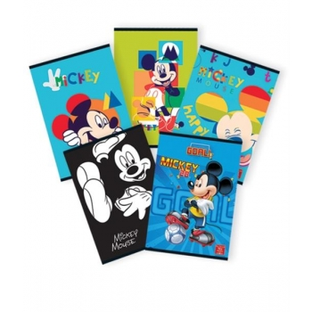 Caiet A4 60F Dictando Licente Mickey Mouse