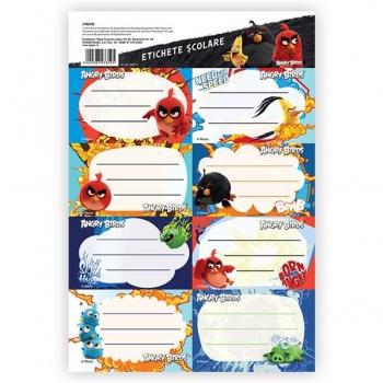 Etichete Scolare 40/Set Angry Birds Pigna