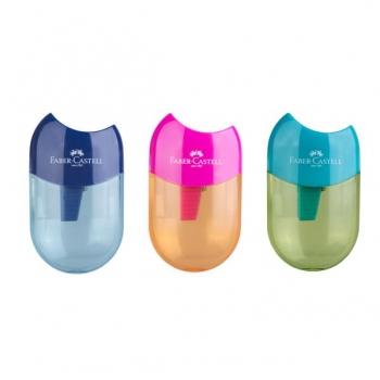 Ascutitoare Plastic Simpla Cu Container Apple Trend 2019 Faber