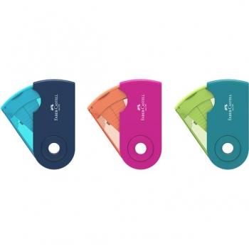 Ascutitoare Plastic Simpla Sleeve-Mini Trend 2019 Faber-Castell