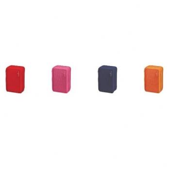 Penar 3 Fermoare Echipat 46 Piese Monocolor Asort Faber-Castell