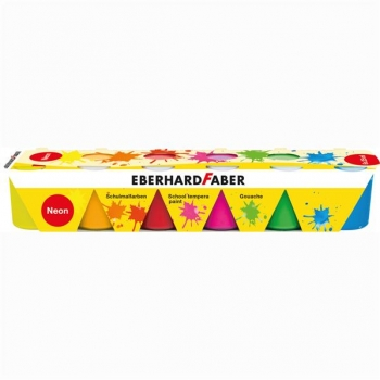 Guase 6 Culori 25 ml Neon Eberhard Faber