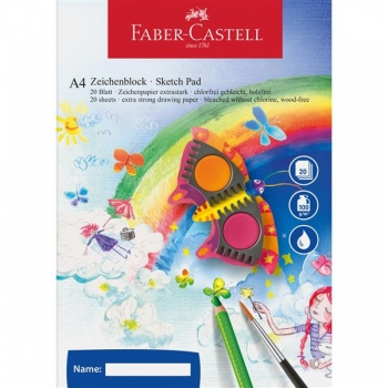 Bloc Desen A4 Faber-Castell