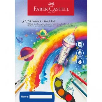 Bloc pentru Desen Acuarela A3 Faber-Castell