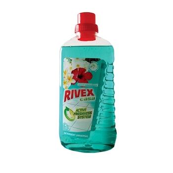 Detergent pardoseala, Rivex, Casa, flori smarald, 1l