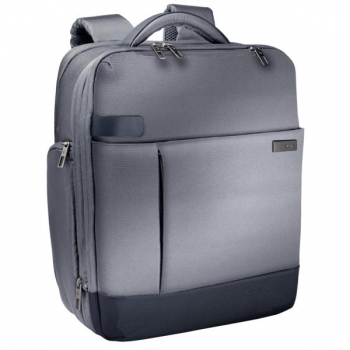 Rucsac Smart Traveller Gri-Argintiu Laptop 15,6 Leitz