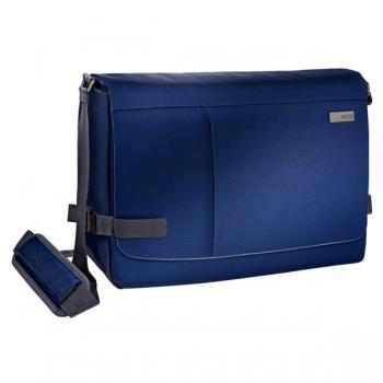 Geanta Messenger Smart Traveller Albastru-Violet 15,6 Leitz
