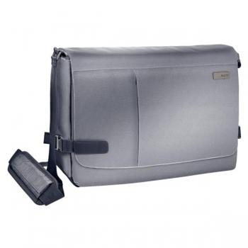 Geanta Messenger Smart Traveller Gri-Argintiu 15,6 Leitz