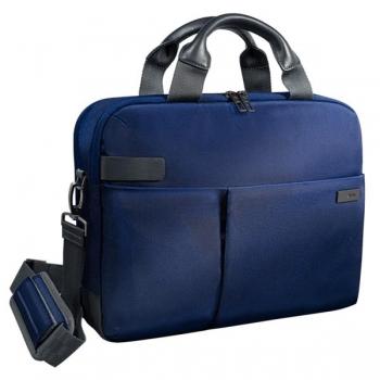 Geanta Smart Traveller Albastru-Violet Laptop 13,3 Leitz