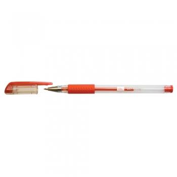 Roller cu gel, RTC, 0.7 mm, plastic, rosu, 12 bucati/cutie