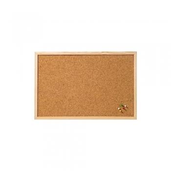 Tabla din pluta A-series, rama lemn, 40 x 60 cm