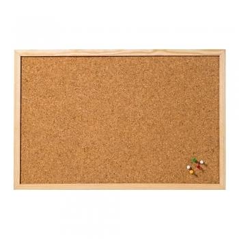 Tabla din pluta A-series, rama lemn, 60 x 100 cm