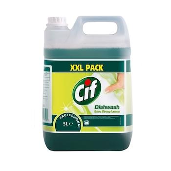 Cif detergent de vase super concentrat cuaroma de lamaie, 5 l