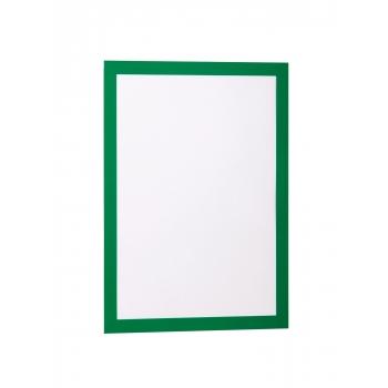 Display magnetic Durable Duraframe, A4, verde, 2 bucati/set