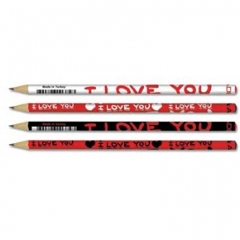 Creion Grafit HB I Love You Adel