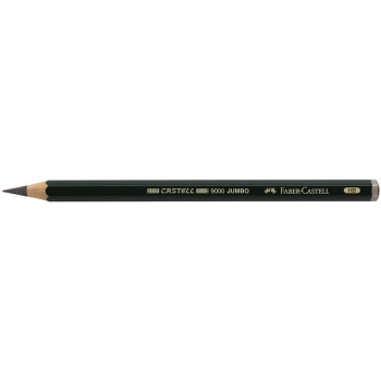 Creion Grafit Castell 9000 Jumbo Diverse Tarii Faber-Castell