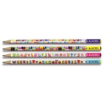 Creion Grafit HB Letters Adel
