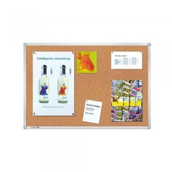 Tabla pluta Legamaster Universal, rama aluminiu, 60 x 90 cm