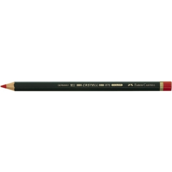 Creion Rosu Castell Color 870 Faber-Castell